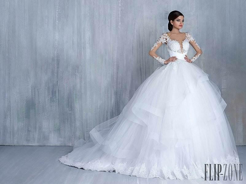 احدث فساتين زفاف 2016