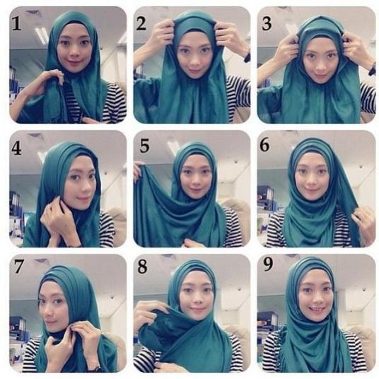 بالخطوات طرق لف الحجاب