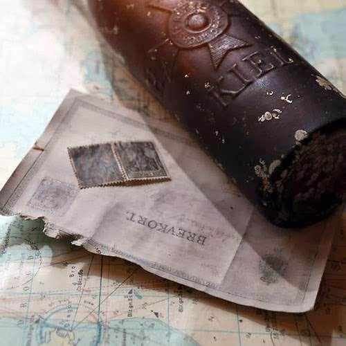 العثور على رسالة في زجاجة بعد 103 سنوات