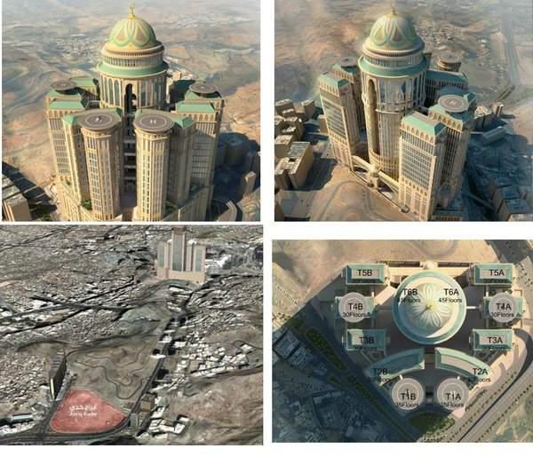اكبر فندق في العالم في السعودية