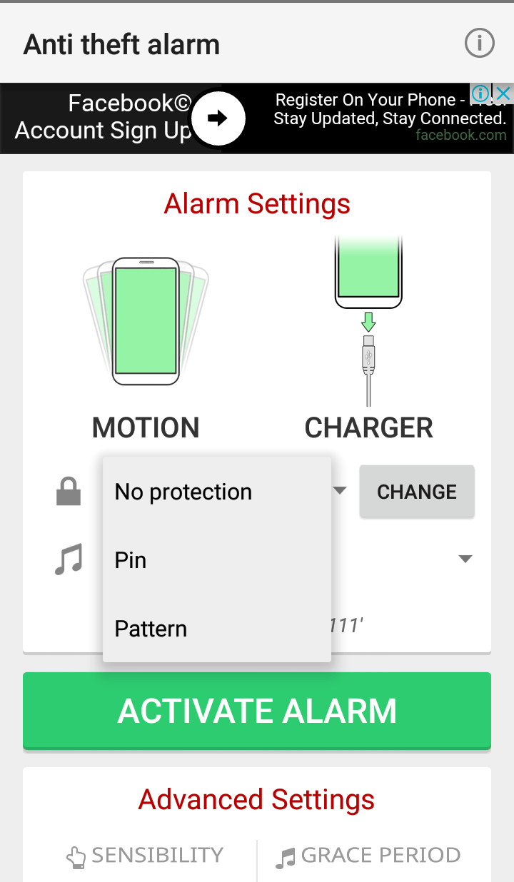 تطبيق يقوم بحماية الهاتف من السرقة