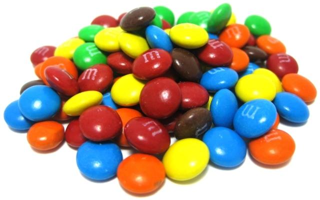 شوكولاتة M & M