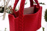 حقائب يد من الصوف لكل امرأة تبحث عن التميز و الرقي شاهدوها بالفيديو