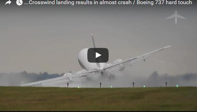 فيديو هبوط مرعب لطائرة بوينغ ,فيديو حادث مروع لطائرة, شاهد هبوط مرعب, هبوط طائرة مرعب, حوادث طيران ,فيديو هبوط طائرة خطير, براعة طيار محترف