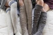 جوارب نسائية غاية في الجمال و الأناقة لشتاء دافئ شاهدوها بالفيديو