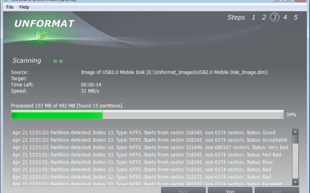 برنامج استعادة المحذوفات من الكمبيوتر او من الفلاش حتى بعد الفورمات برنامج Unformat