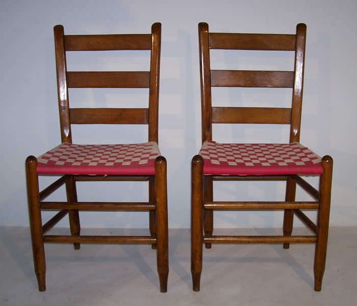 Shaker style side chairs