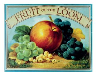 Perinteikäs Fruit of The Loom