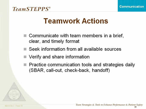 Communication Instructor\u0027s Slides Agency for Healthcare Research