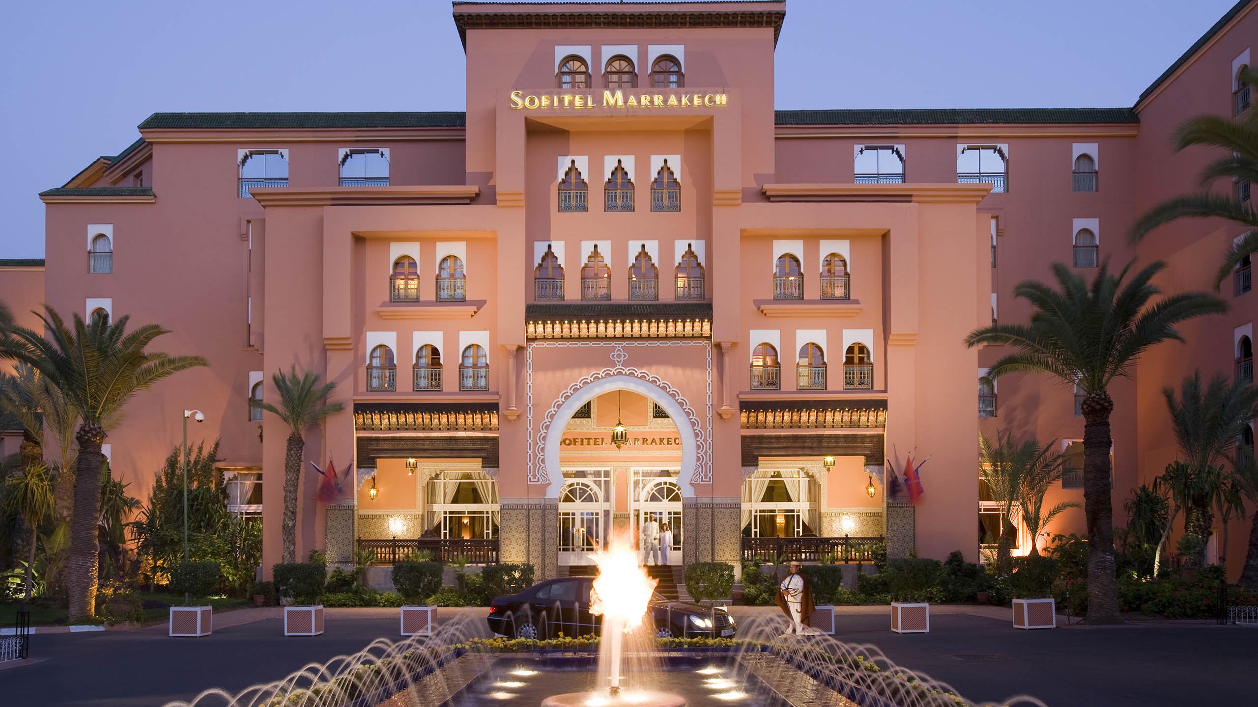 Luxury Hotel Marrakech Sofitel Marrakech Palais Imperial