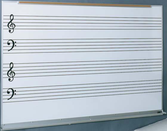 Music Staff Lines and Ruled White Boards - music staff paper template