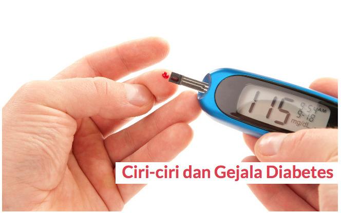 Ciri Tanda Gejala Diabetes