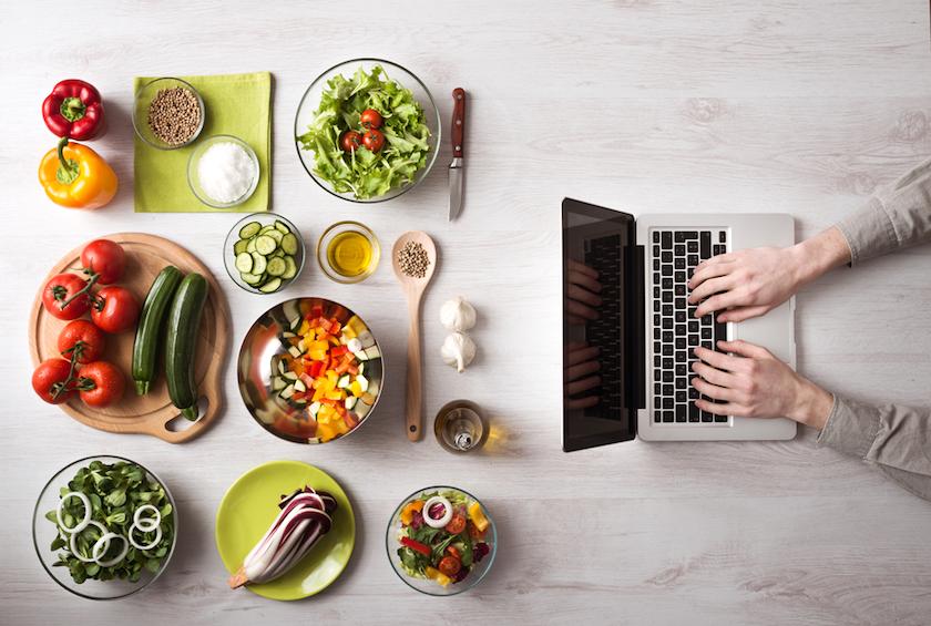 blogger jangan lupa makan
