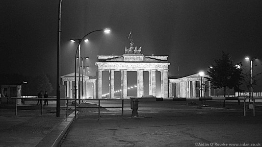 Berlin Brandenburg Gate 1982