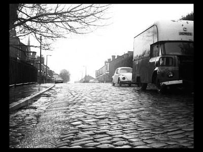 Grenville Street Stockport, with setts