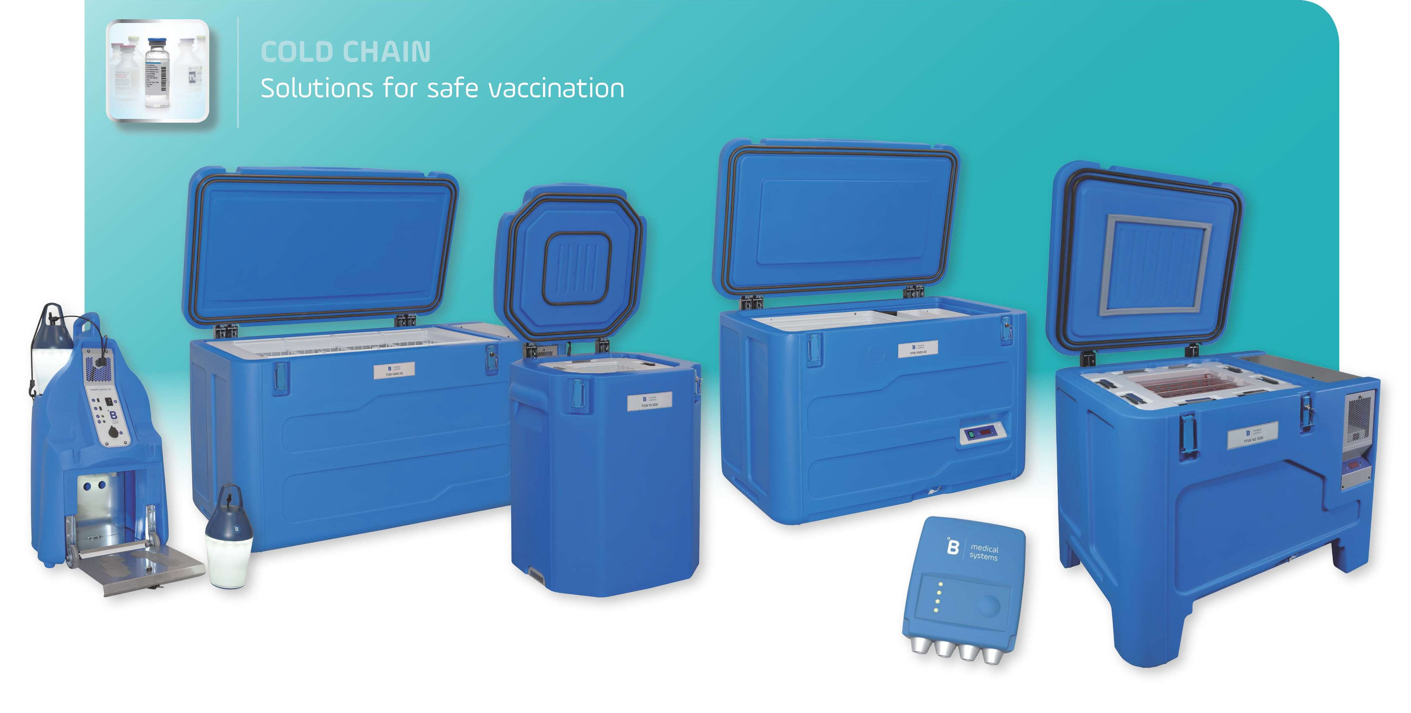New Solutions For Safe Vaccination From B Medical Systems
