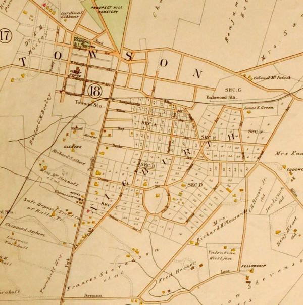 Portion of 1898 Atlas