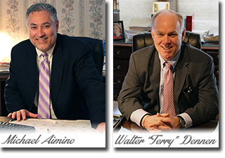 """Michael Aimino and Walter """"Terry"""" Dennen"""