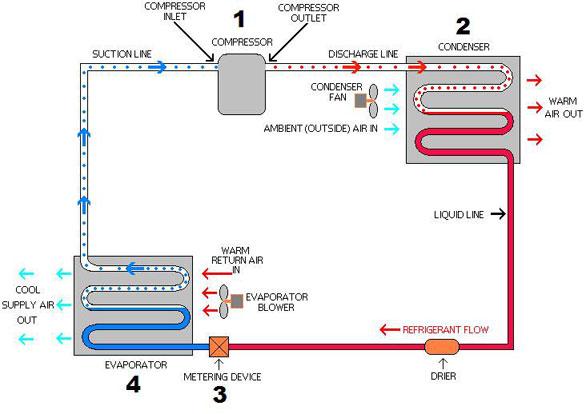 basic refrigeration wiring diagram