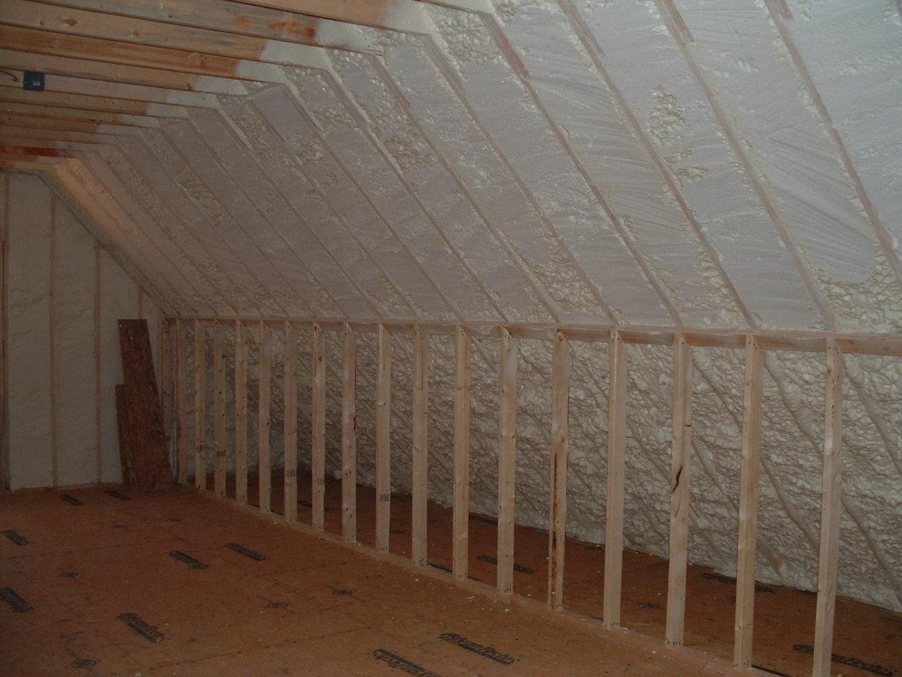 Spray Foam Insulation Air Barrier Insulation Systems