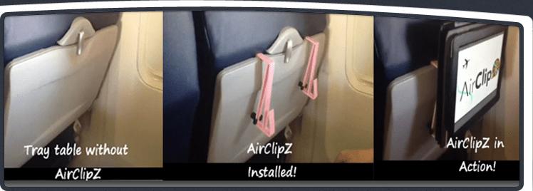 Airplane Ipad Holdermount Ipad Seat Back Tray Table