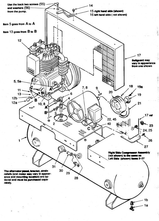 air compressor wiring air compressor wiring diagram