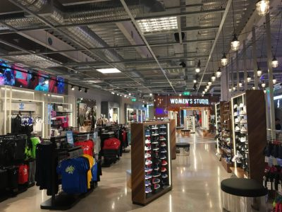 Air Conditioning Installation in New Retail Outlet ...