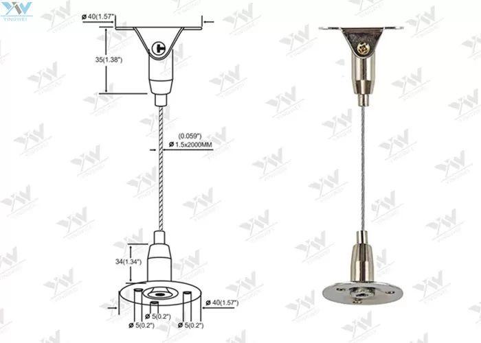 hanging light wiring kit