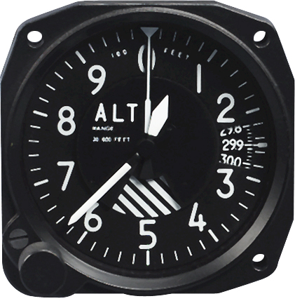 FALCON 3-1/8 SENSITIVE ALTIMETERS from Aircraft Spruce