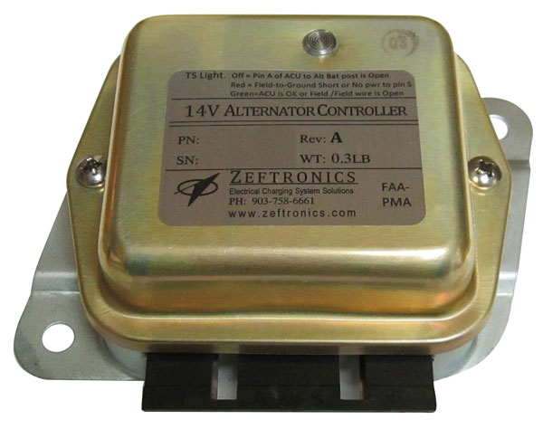 ZEFTRONICS VOLTAGE REGULATORS - ALTERNATOR CONTROLLERS from Aircraft