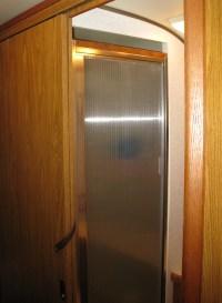 22 inch shower door