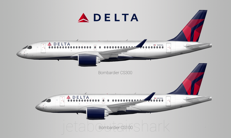 Delta Cseries Re Create By Airshark Gallery