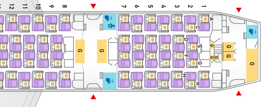 World Airline Seat Map guide SKYTRAX