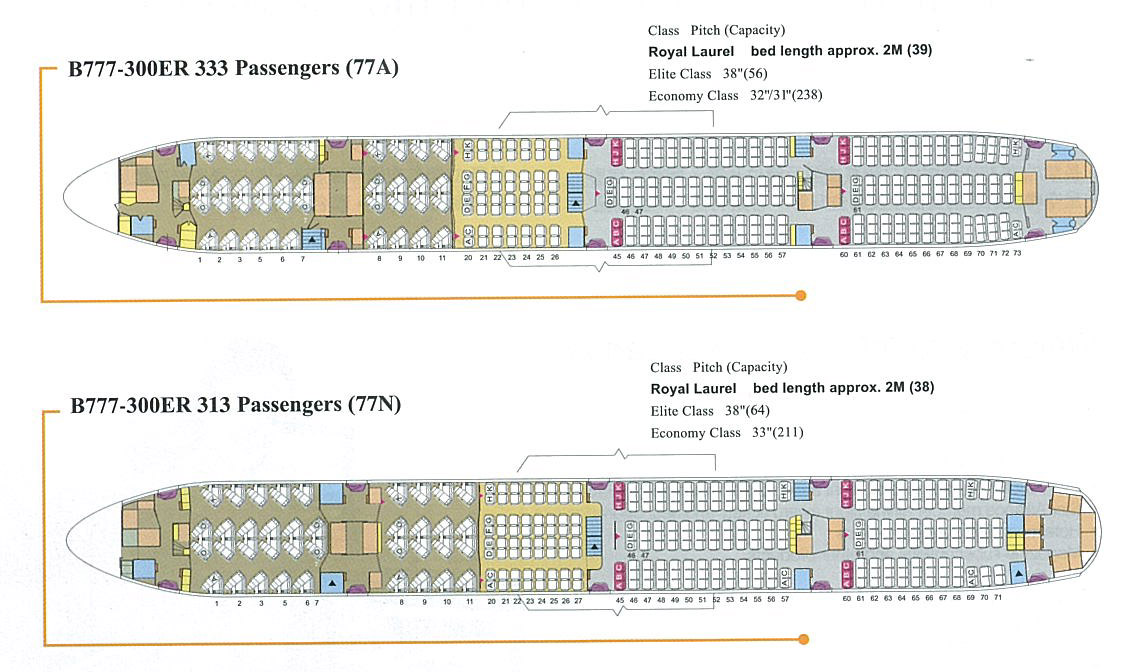 Eva Air Takes Delivery Of Two 777 300ers With A New Cabin