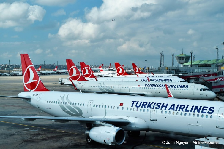 Flying Economy on a Turkish Airlines Airbus A321 - AirlineReporter