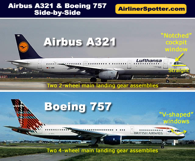 Airbus A321 Spotting Guide, Tips for Airplane Spotters, Photographs