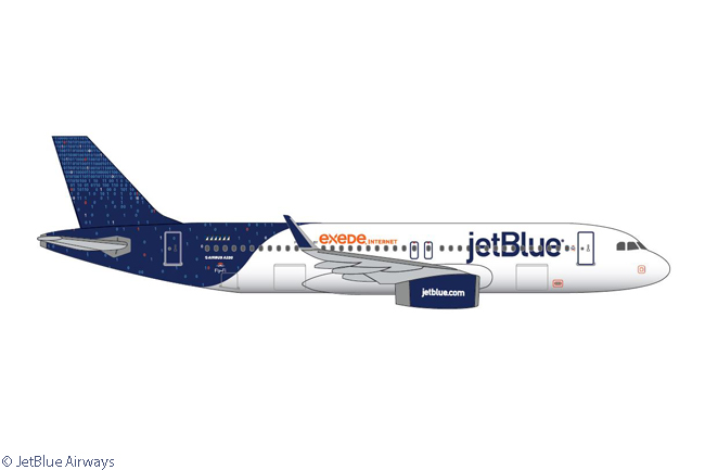 JetBlue Airways Introduces the Binary Code Livery to Celebrate Its - aircraft painter sample resume