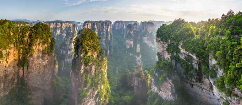What Is Falling Action Of The Yellow Wallpaper Zhangjiajie National Forest Park China 360 176 Aerial