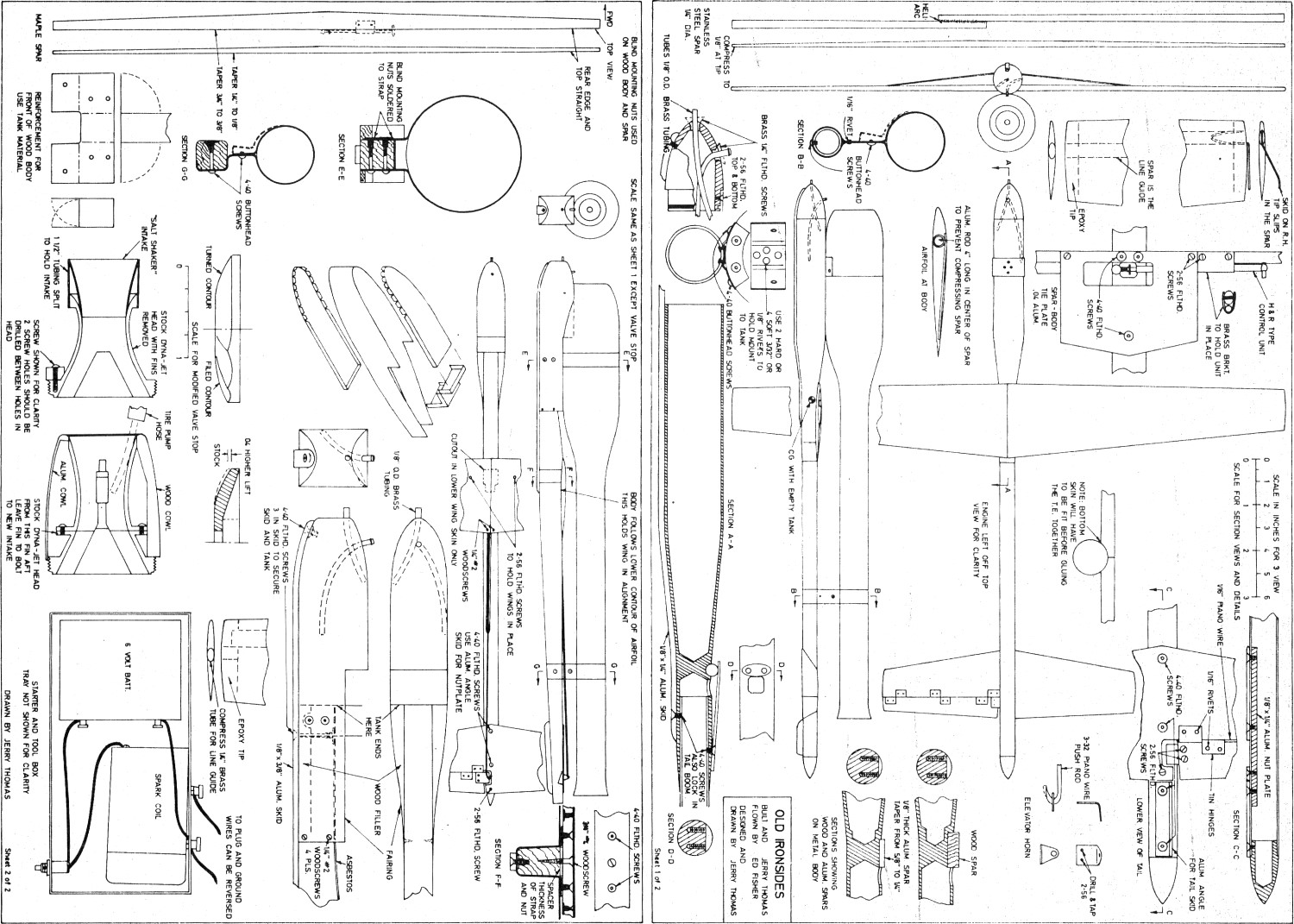 wiring diagram for a small rc airplane