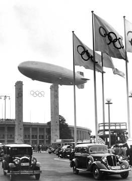 Znalezione obrazy dla zapytania lz 129 hindenburg olympic