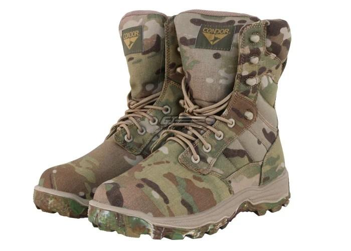 Condor Outdoor Tactical Elite 8quot Boots Multicam 95