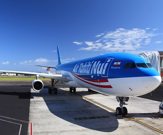 Check-In/Seat Assignment Air Tahiti Nui
