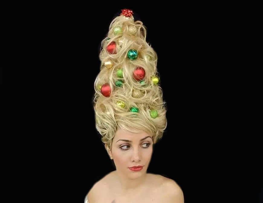Crazy Christmas Hair Ideas Wikie Cloud Design Ideas