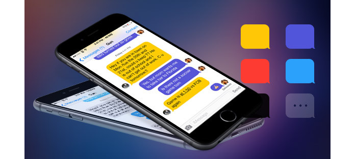 Message Themes Change SMS Text Message Bubbles