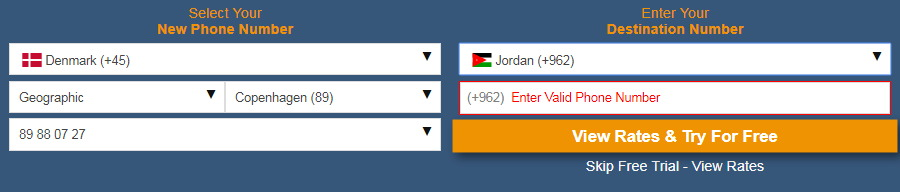 Virtual Number Forwarding Enables Call Transfer to Any Country