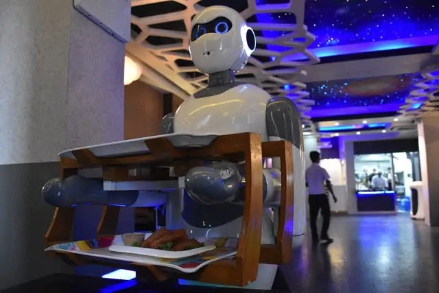 Step Inside The Nepalese Restaurant Staffed By Robot