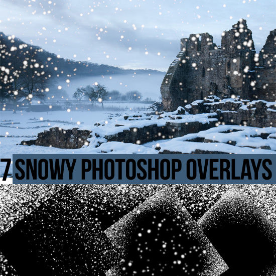 Snow Effect Overlays for Photographs and Digital Artists