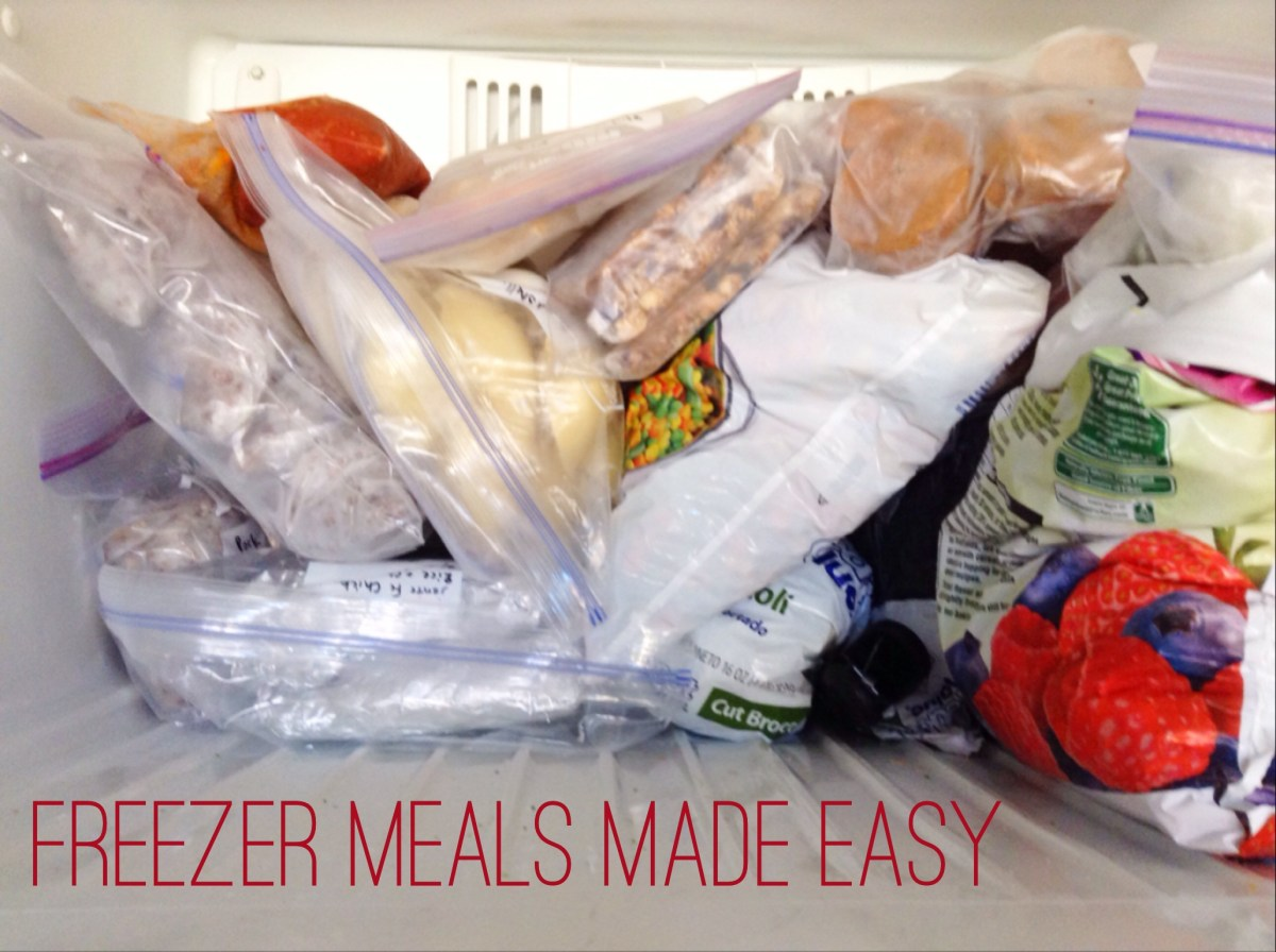 Freezer Meals Made Easy - Part 1