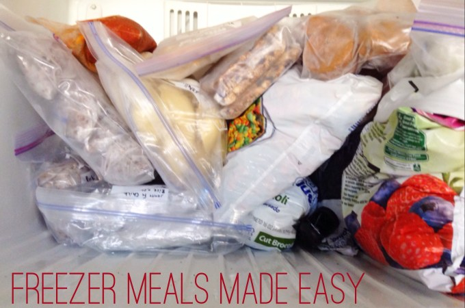 Freezer Meals Made Easy – Part 2