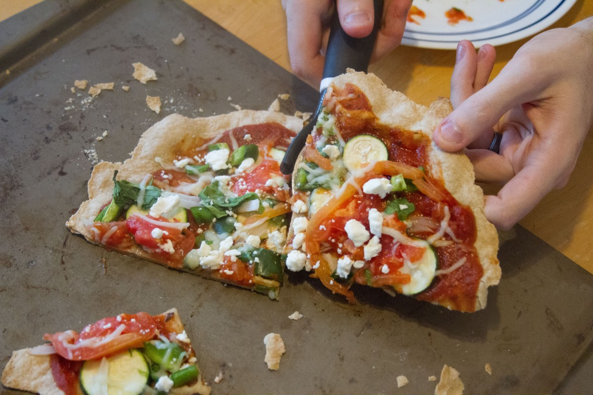 Food Staples: Sourdough Salad Pizza